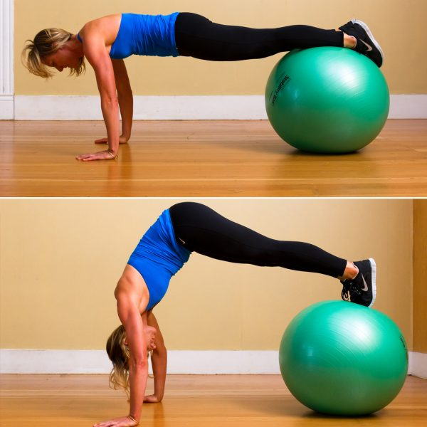 Stability Ball Core Exercises: Stability Ball Core Exercises