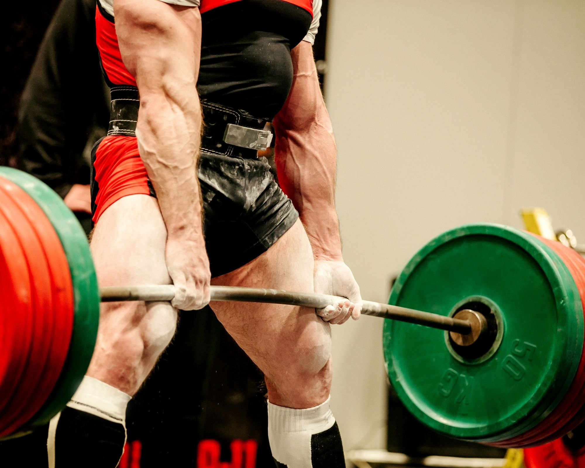 A male powerlifter - the importance of balance