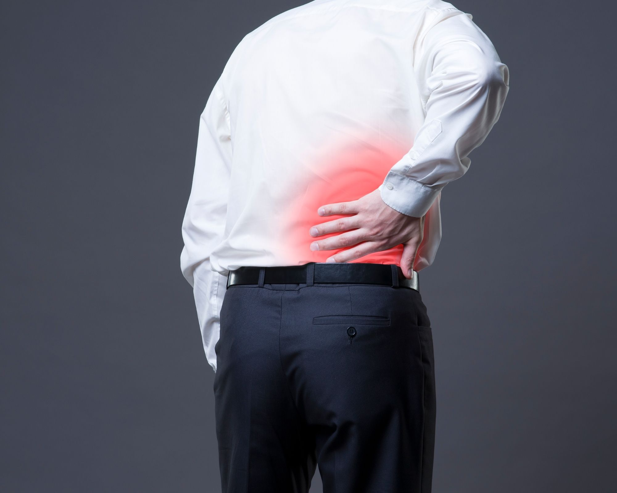 Back pain due to inflammation