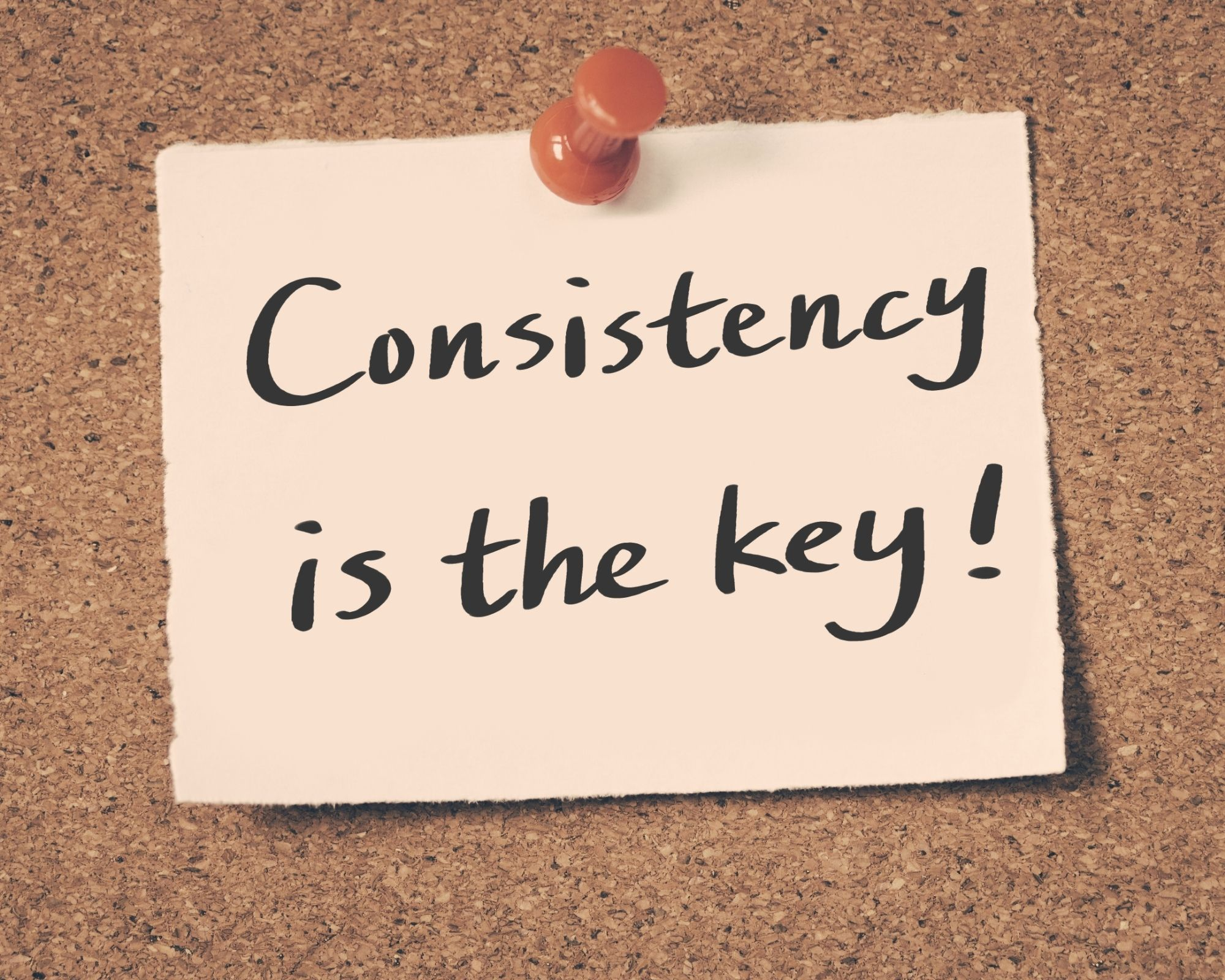 Consistency - Back to it
