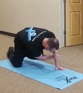 Bird Dog - Step 2 - A movement that helps heal back pain.
