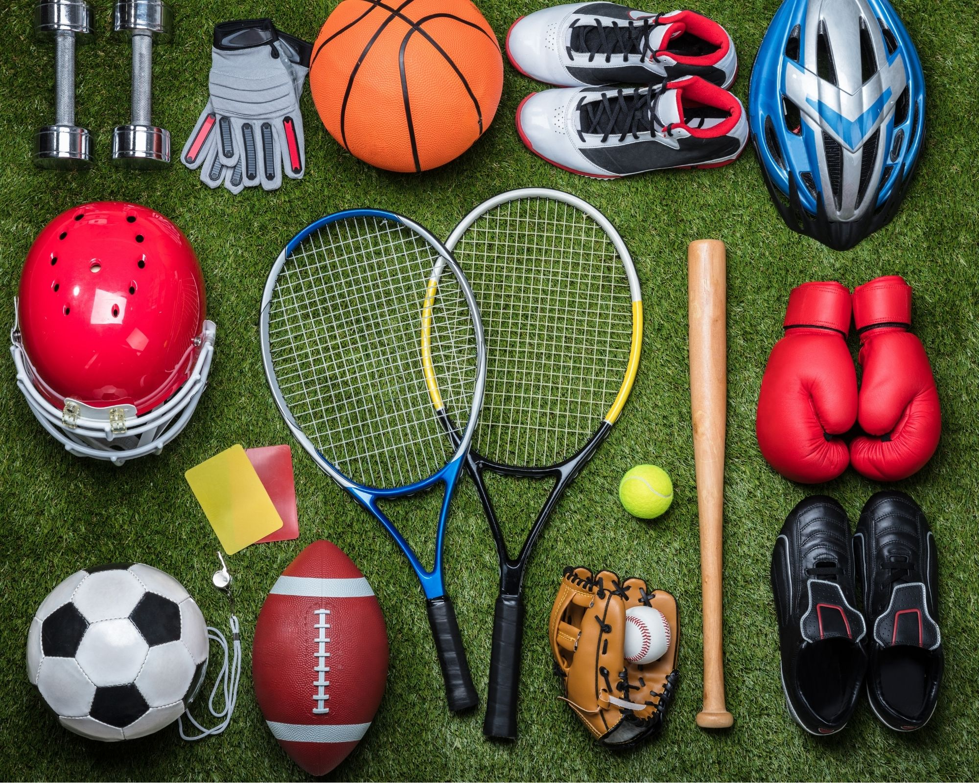 Sports Equipment - Used as example of one thing that impacts our sleeping