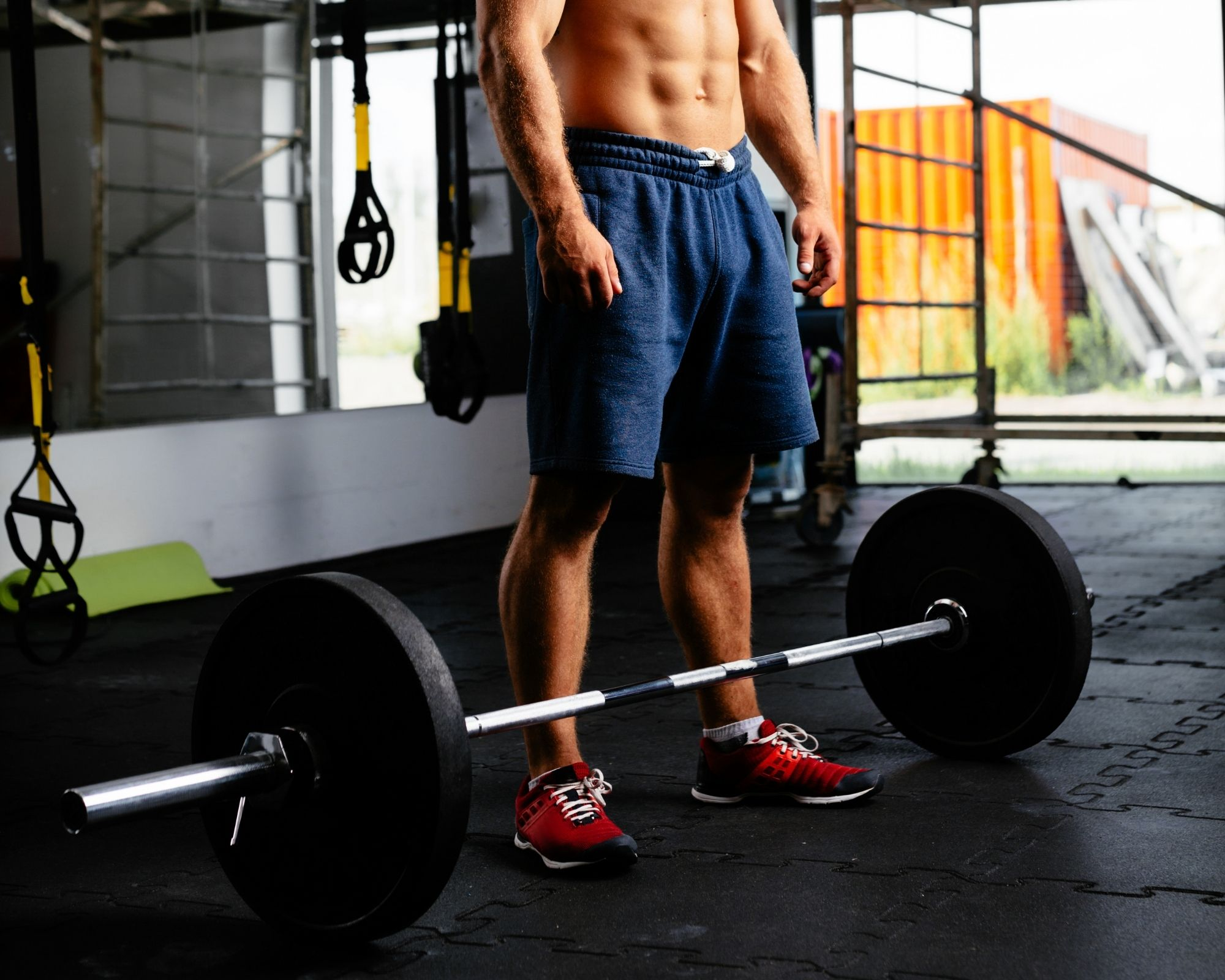 Picture of a male power lifter
