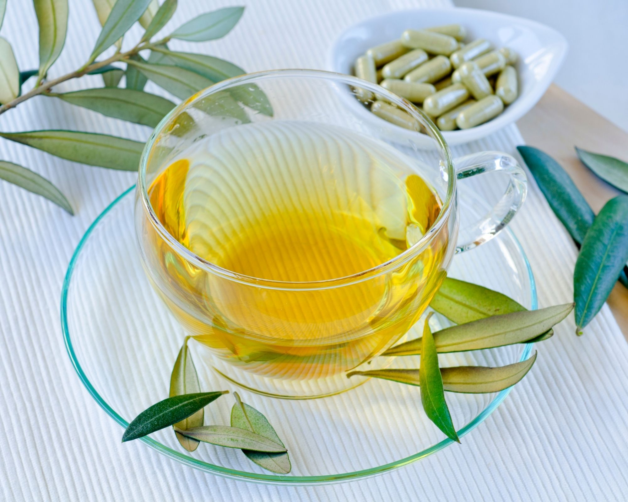 Olive Leaf Extract - Part of the formula